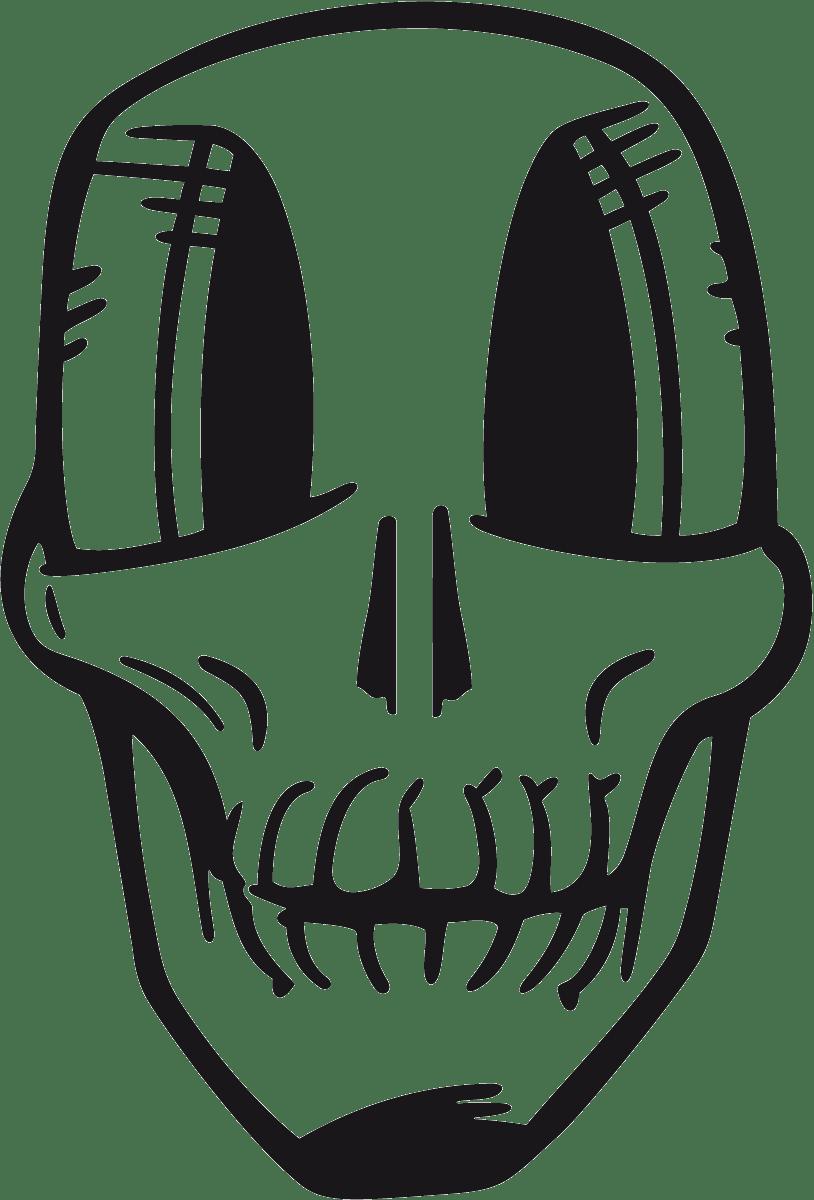 Aufkleber: skull1