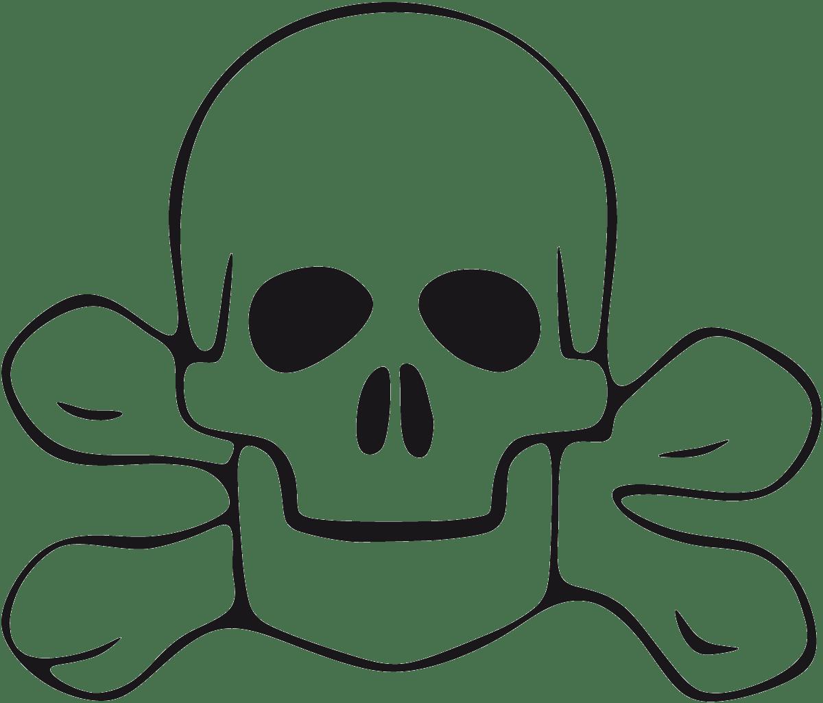 Aufkleber: skull2