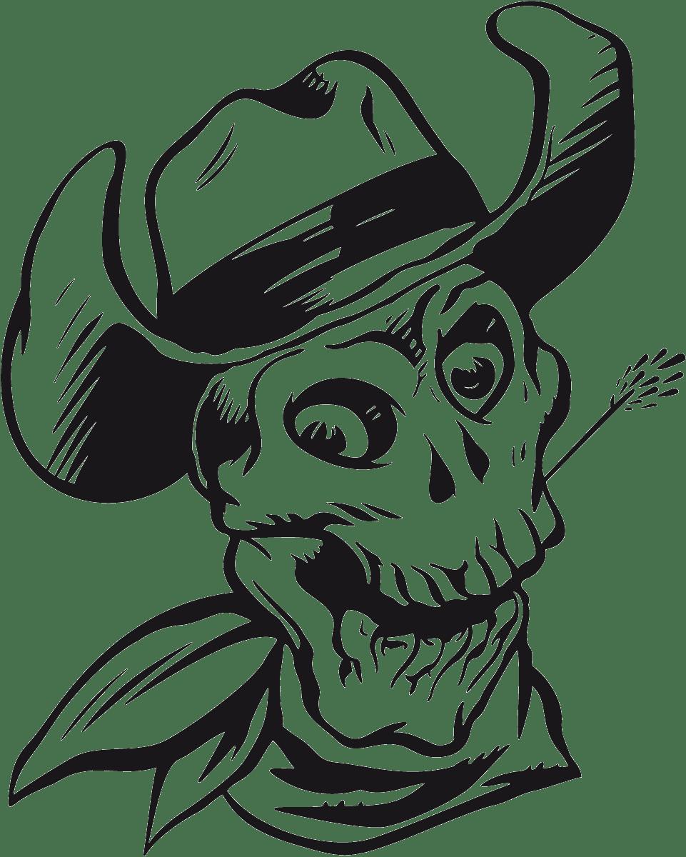 Aufkleber: skull3