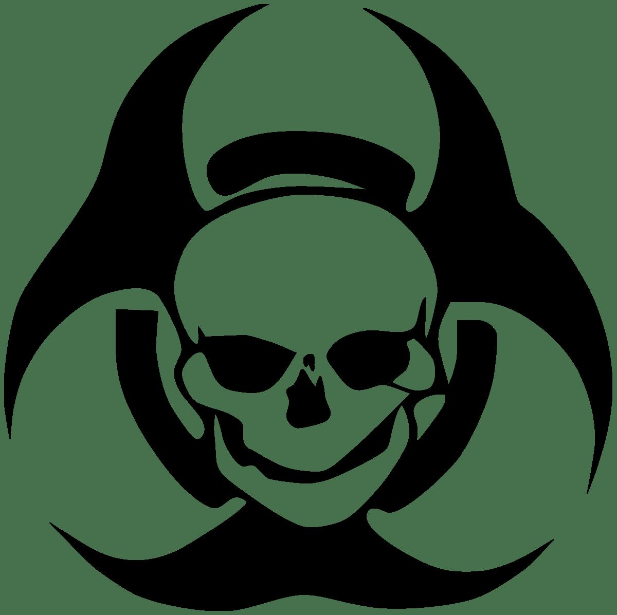 Aufkleber: skull4