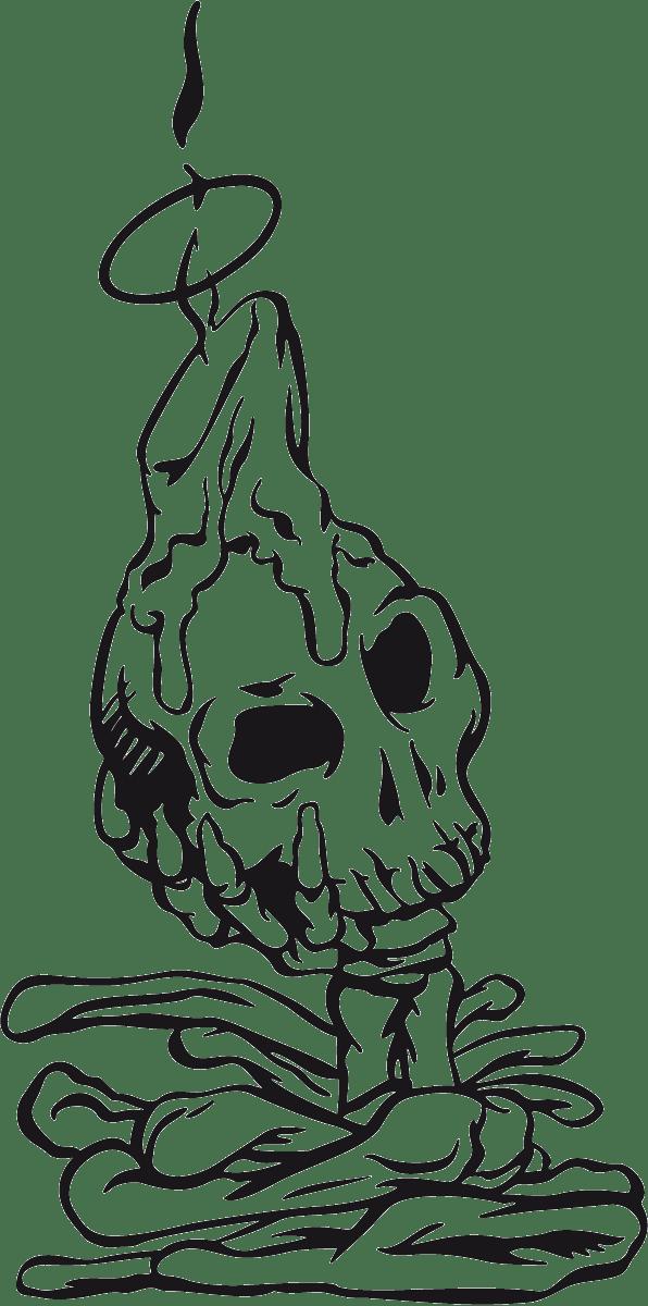 Aufkleber: skull6