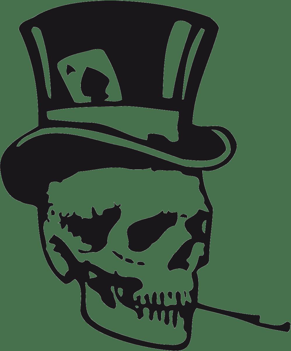 Aufkleber: skull31