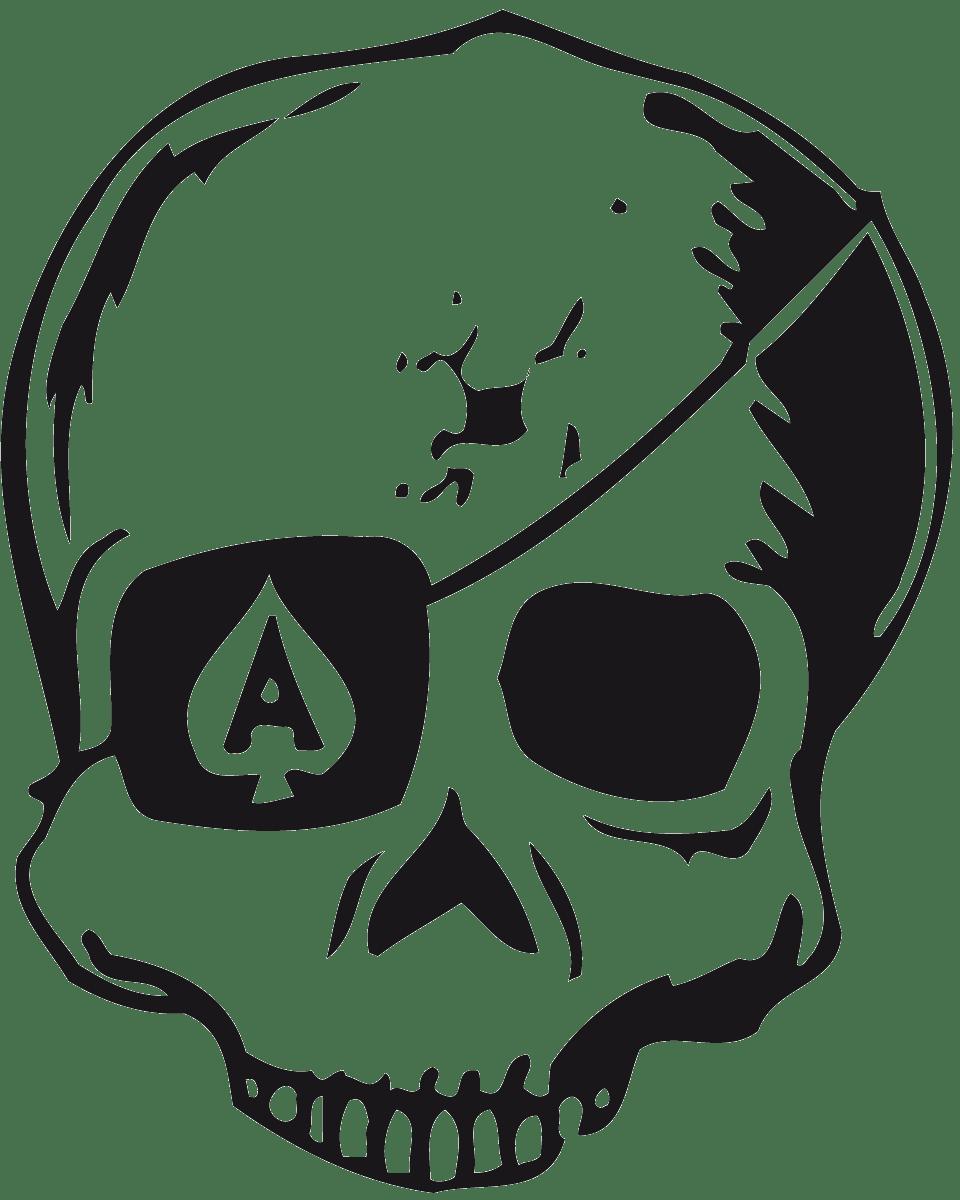 Aufkleber: skull38