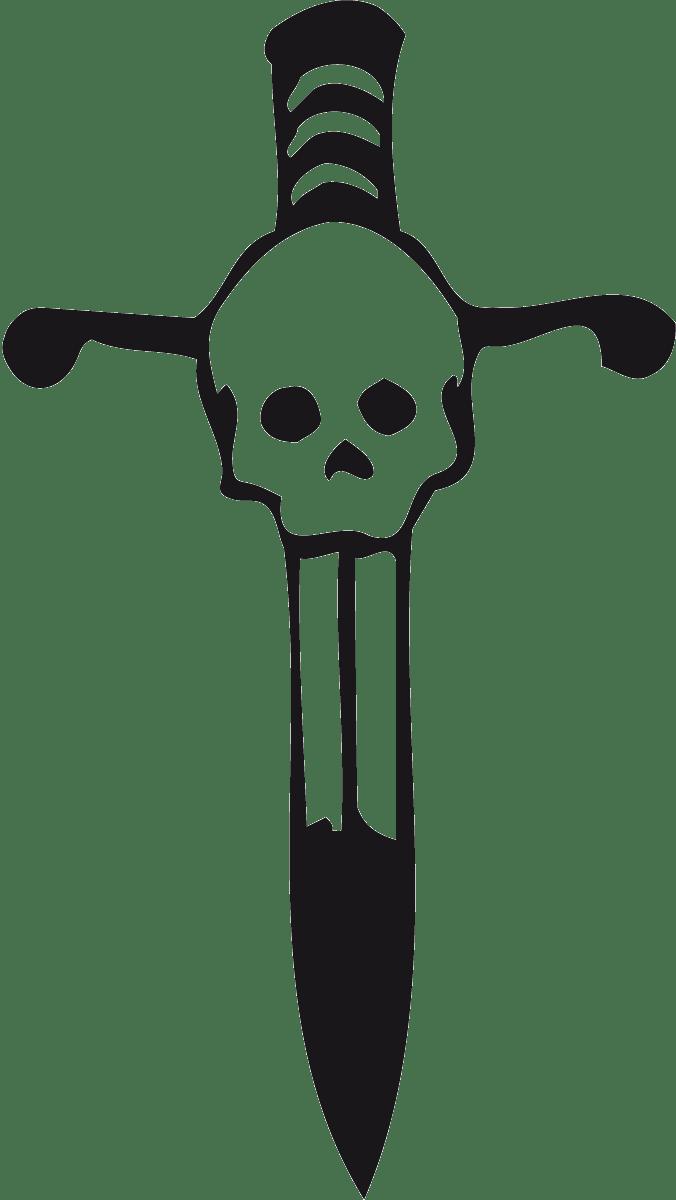 Aufkleber: skull39