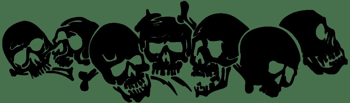 Aufkleber: skull41