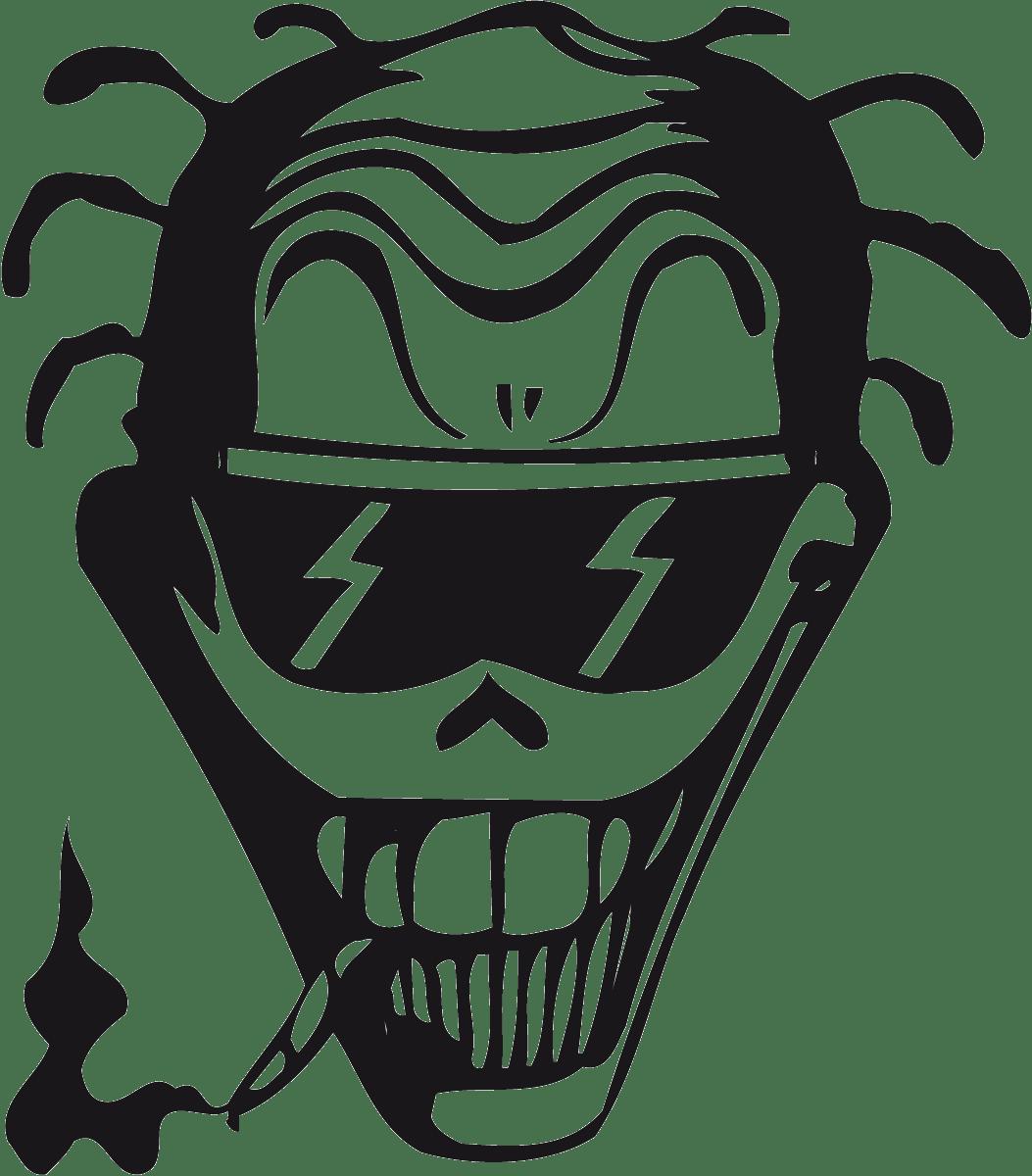 Aufkleber: skull46