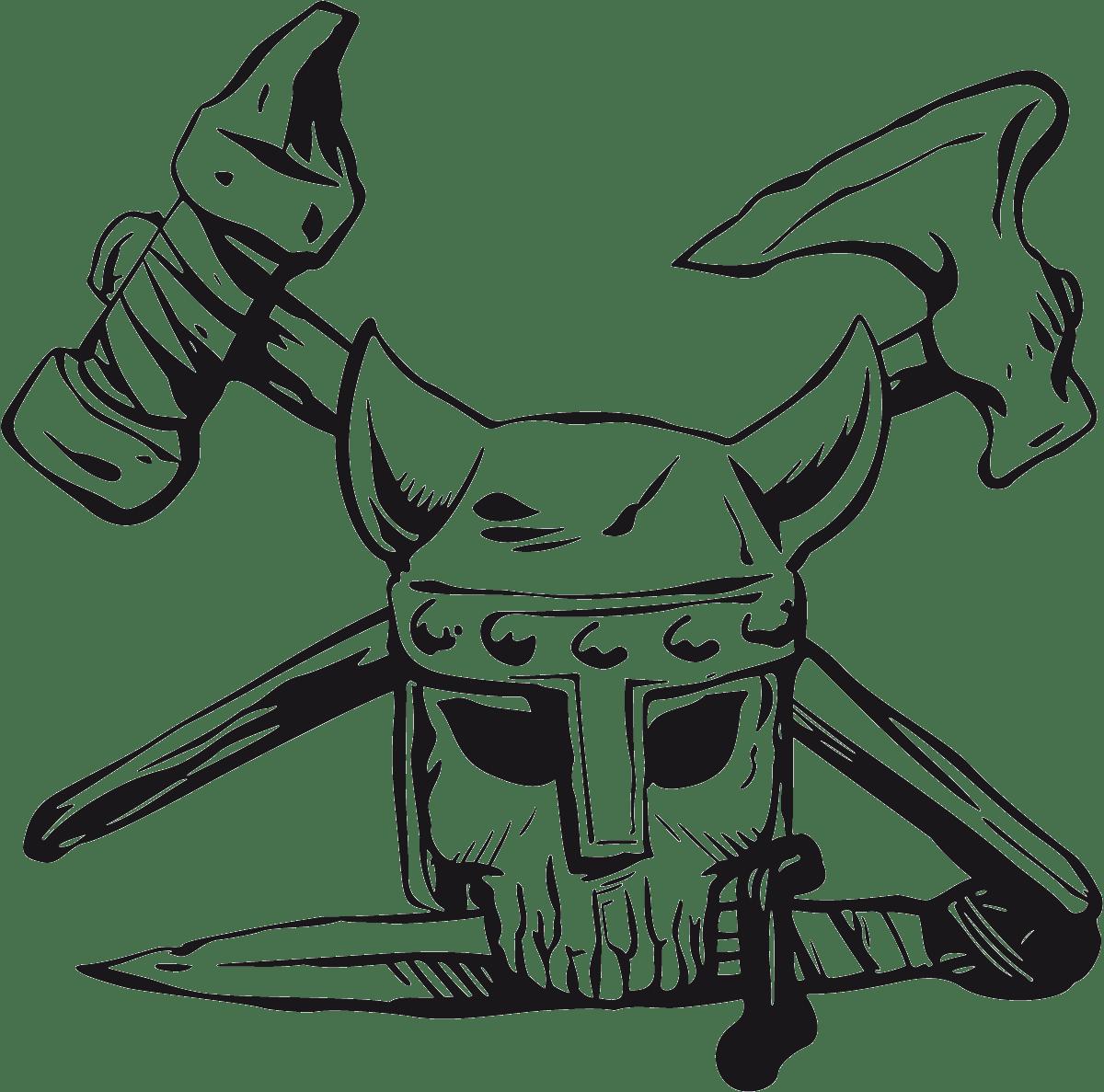 Aufkleber: skull54