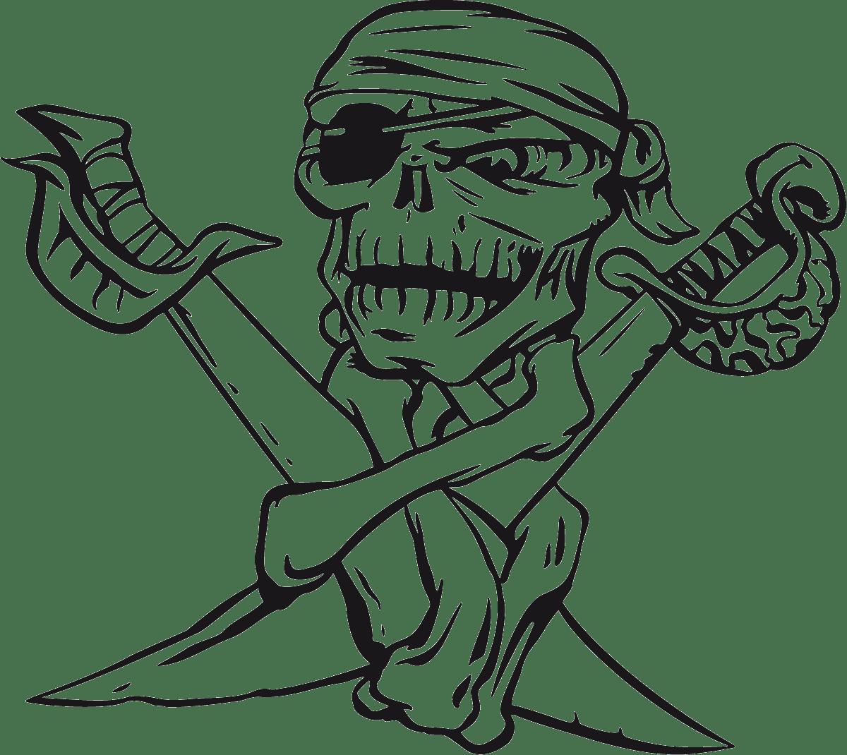 Aufkleber: skull56