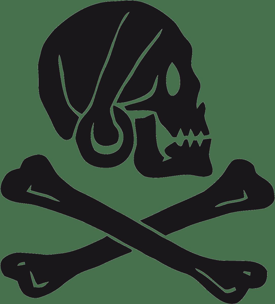 Aufkleber: Pirate Henry Every