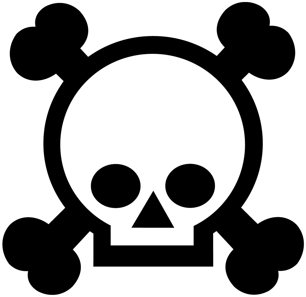 Aufkleber: Skull 60
