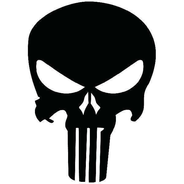 Aufkleber: The Punisher
