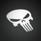 Aufkleber: Skull Punisher 0