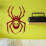 Wandtattoos: Spider Skull 0