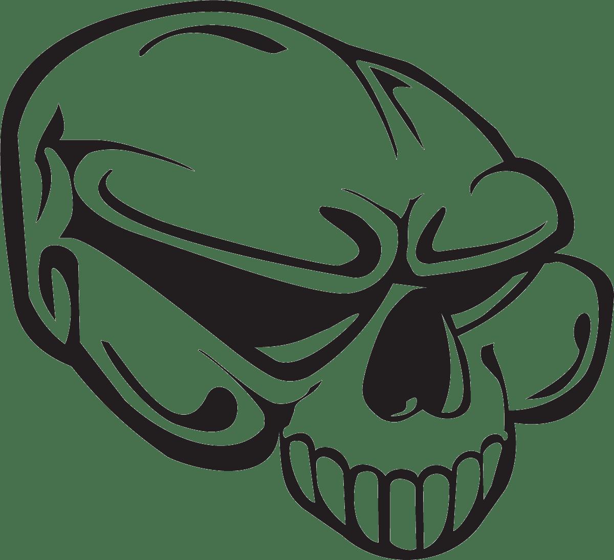 Aufkleber: Skull 67
