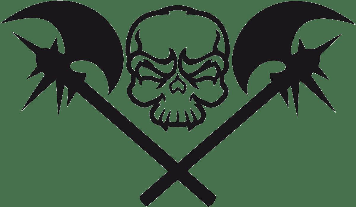 Aufkleber: Skull 70