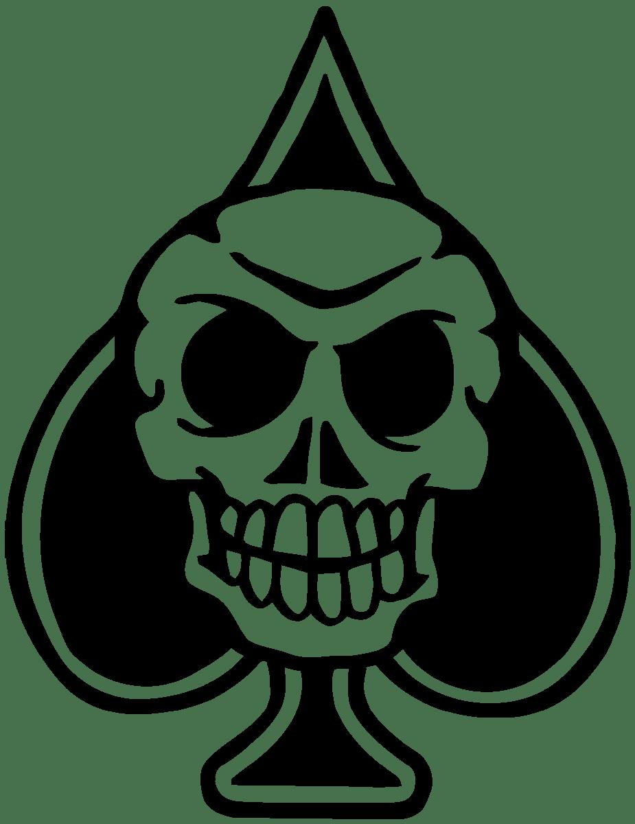 Aufkleber: Skull 82