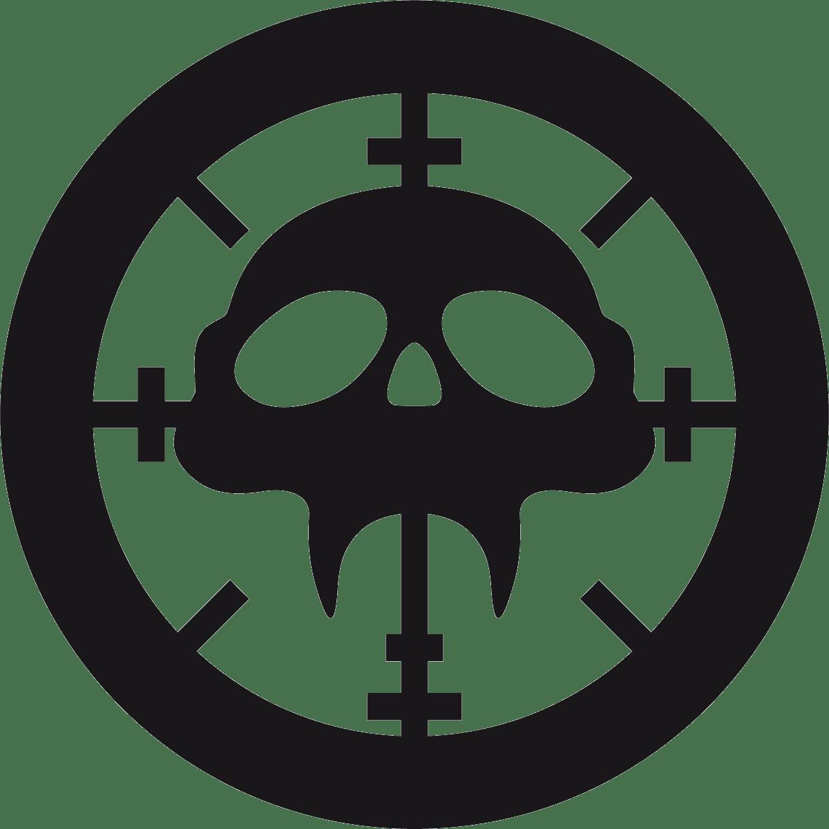 Aufkleber: Skull 83