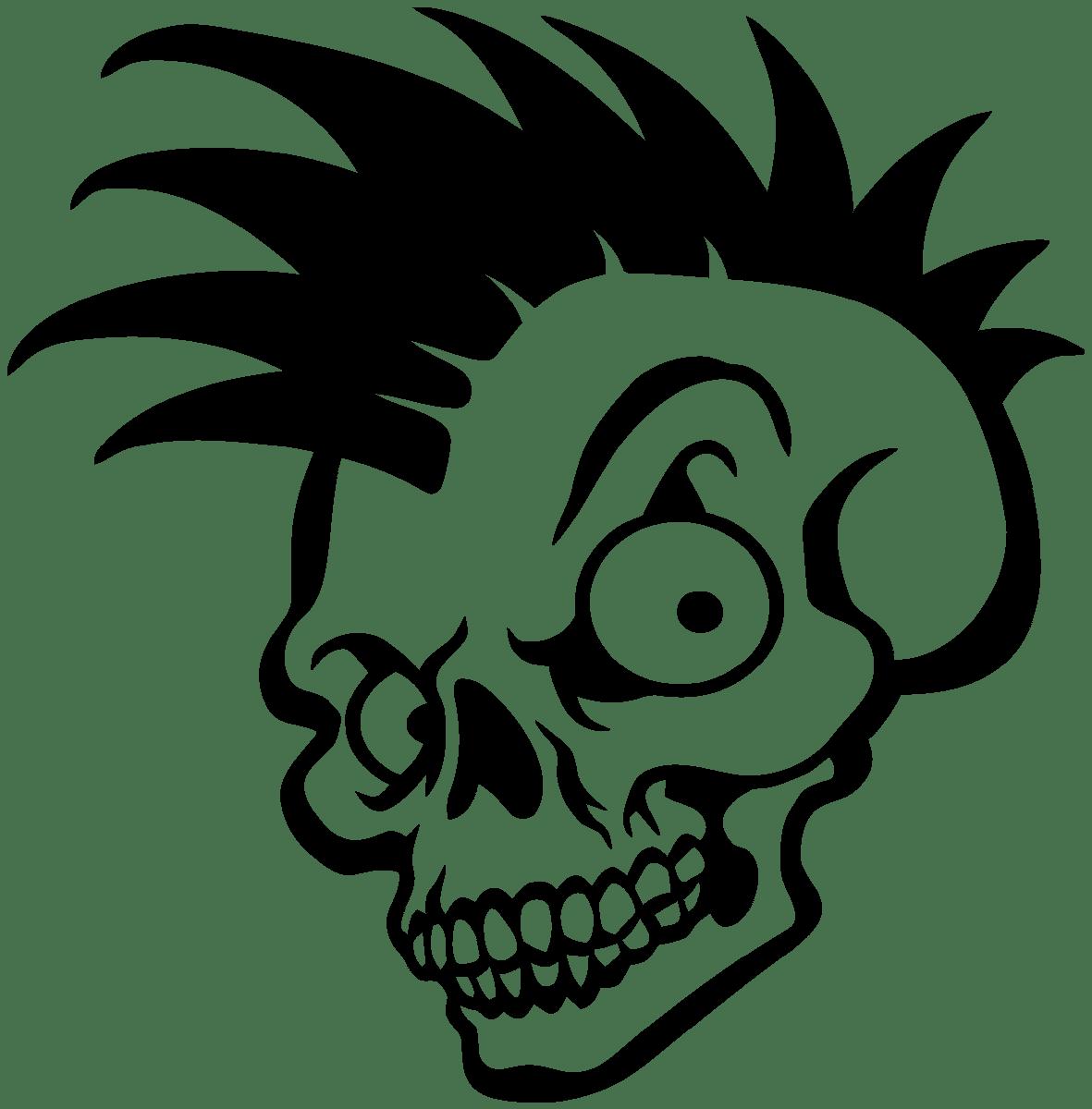 Aufkleber: Skull 84
