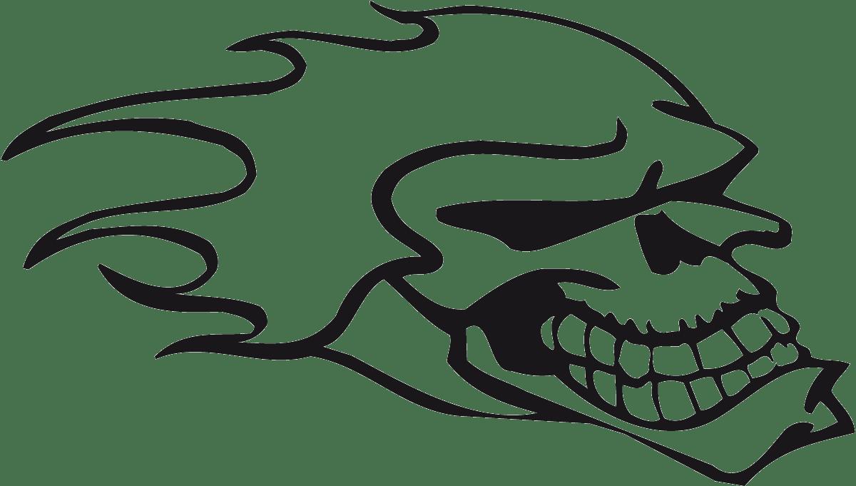 Aufkleber: Skull 87
