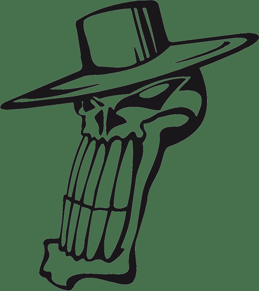 Aufkleber: Skull 88