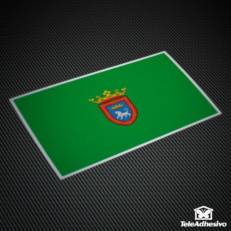 Aufkleber: Pamplona-Flagge