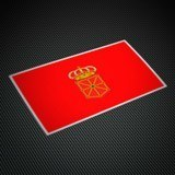 Aufkleber: Navarra Flagge 3