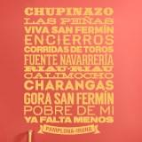 Wandtattoos: Pamplona-Iruña 2