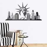 Wandtattoos: New York Skyline 0