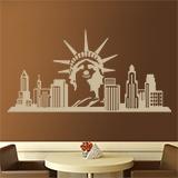 Wandtattoos: New York Skyline 4