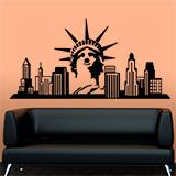 Wandtattoos: New York Skyline 5
