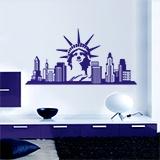 Wandtattoos: New York Skyline 6