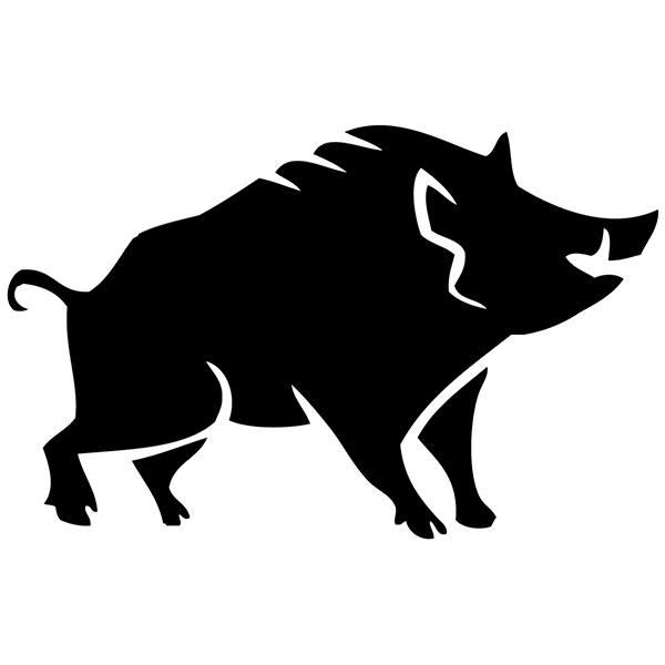 Aufkleber Fur Auto Oder Motorrad Wildschwein Webwandtattoo Com