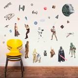 Wandtattoos: Klassische Star Wars Wandtattoo 4