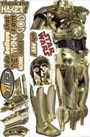 Wandtattoos: Riesen C3PO Wandtattoo 4