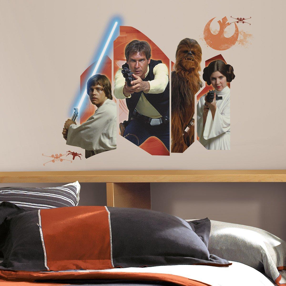 star wars luke solo chewie und leia. Black Bedroom Furniture Sets. Home Design Ideas