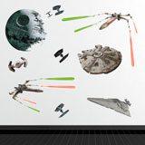Wandtattoos: Star Wars Klassische Schiffe 3