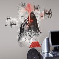 Wandtattoos: Riesen Villain-Wandtattoo Star Wars 0