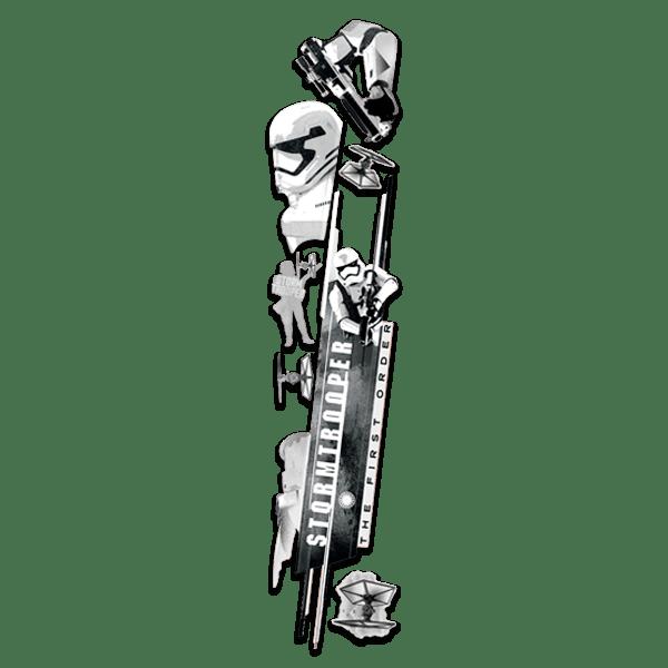 Wandtattoos: Das Erwachen der Macht -Stormtrooper