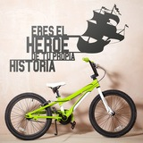 Kinderzimmer Wandtattoo: Adventure hero 0