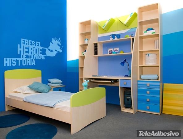 Kinderzimmer Wandtattoo: Adventure hero
