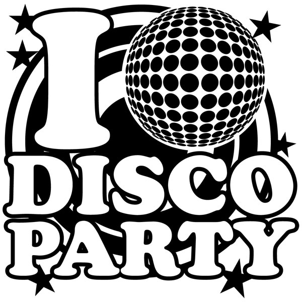 Wandtattoos: DiscoParty