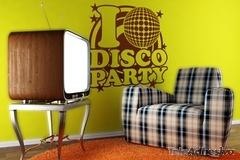 Wandtattoos: DiscoParty 2