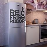 Wandtattoos: Refrigerador01 2