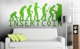 Wandtattoos: Evolucion InsertCoin 3