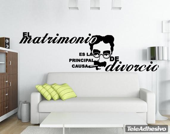 Wandtattoos: Wedding Divorce