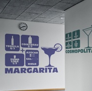 Wandtattoos: Cocktail Margarita 2