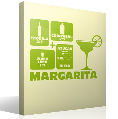 Wandtattoos: Cocktail Margarita