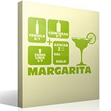 Wandtattoos: Cocktail Margarita 3