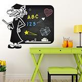 Kinderzimmer Wandtattoo: Professor 0
