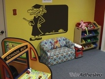Kinderzimmer Wandtattoo: Professor 3